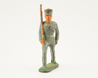 Vintage, antique, barclay, lead soldier, toy soldier, 1930s