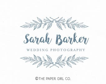 photography logo premade logo design photographers logo wedding monogram logo event planner logo leaf logo design pre made logo watermark