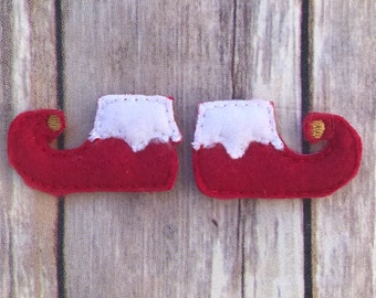 Custom Christmas Elf Shoes Photo Prop