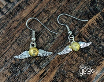 Jewelry snitch | Golden Snitch | HP jewelry | HP jewelry gift | Hogwarts snitch | Harry Potter Jewelry | HP gift | Harry Potter fan