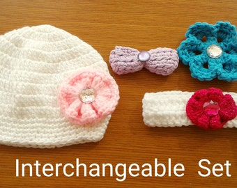 30% OFF ENTIRE PURCHASE Coupon Code (CBE30) Crochet Baby Set 0-3 Months