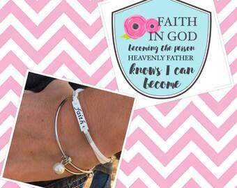 Faith Bracelet Faith In God Gifts