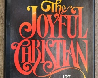 The Joyful Christian by C S Lewis, 1977, 1st Printing