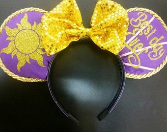 Rapunzel Inspired Mickey Ears