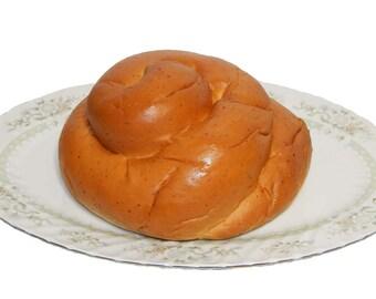 Organic Apple Pie Swirl Challah ~ 20 oz. loaf