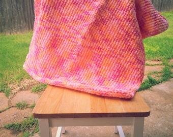 Sherbet Baby Blanket