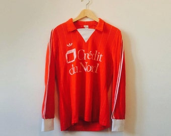 ON SALE // Vintage 80's French Adidas Football Jersey
