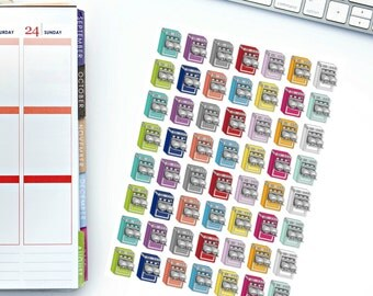 Dishwasher Planner Stickers! Perfect for your Erin Condren Life Planner, calendar, Paper Plum, Filofax!