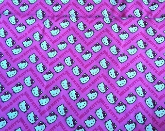 Hello Kitty, 100% cotton, 1 m / 100cm / 39 ""