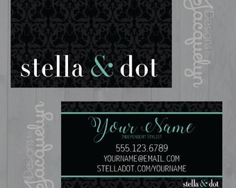 Stella & Dot - Independent Seller - Business Cards - PRINTED