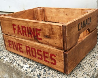 Montreal Five Roses Crate
