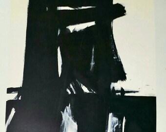Franz Kline Meryon 1961 Lithograph by Lautrec