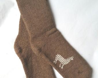Everyday Alpaca Crew Socks