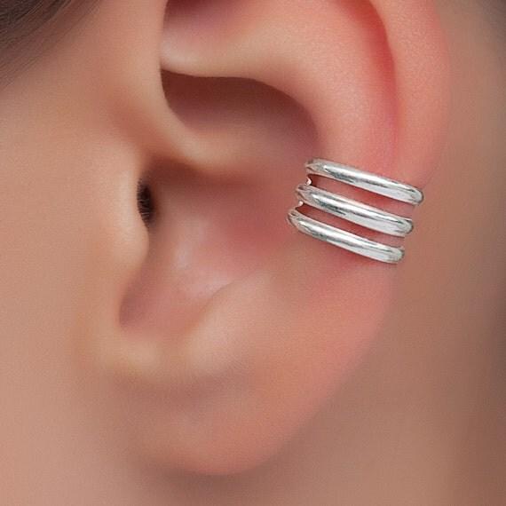 Sterling silver Ear Cuff.
