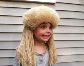 Boys costume wig, Toddler costume, Boys wig, Mullet wig, Mens costume, Mens wigs, Boys Halloween, Halloween costume, Mens Halloween wig