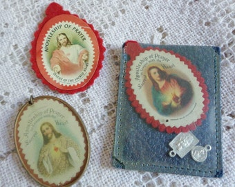Oh Jesus, vintage sacred heart lot ALWAYS FREE SHIPPING