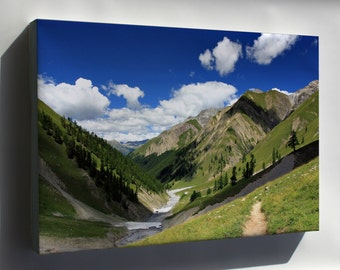 Canvas 24x36; Val Trupchun Swiss National Park (Graubünden) Switzerland
