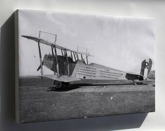 Canvas 16x24; Curtiss Jn-4 Jenny 1918 P1