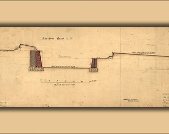 16x24 Poster; Governors Island Fortifications New York 1766