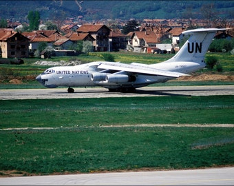16x24 Poster; 1995 United Nations Chartered Russian Il 76.Jpeg_Files