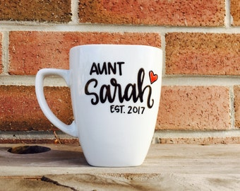 Personalized Aunt Gift New Aunt Personalized Gift for Aunt Christmas Gift for Aunt