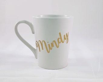 Personalized Coffee Mug, Personalized Coffee Cup, Custom Coffee Mug