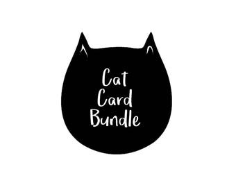 Cat Card Bundle