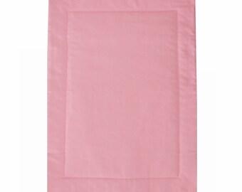 Organic Dog Mat, Organic dog pad, Pink Dog Mat