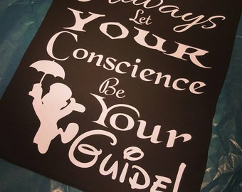 Always Let Your Conscience Be Your Guide - Pinocchio - T ...