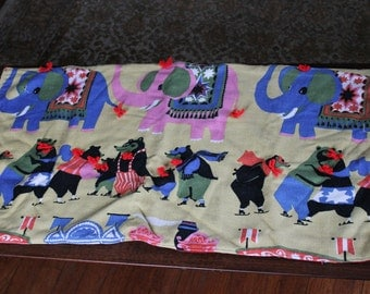 50's Funky Fabric Wall Hanging