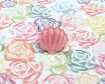 Shell Pink Mermaid Ring