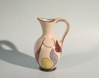 1950's West German ceramic vase ES-KERAMIK form 680/15 - WGP #057