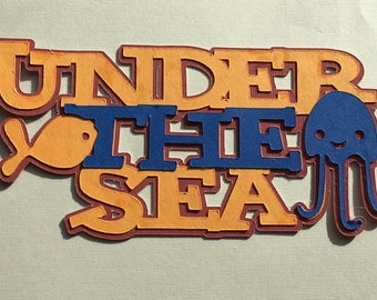 Under The Sea Die Cut