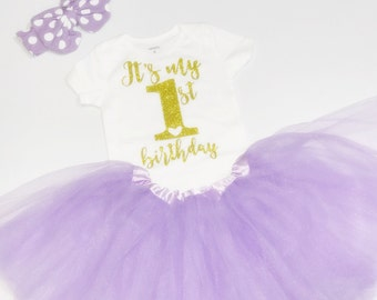 First Birthday Girl Outfit, First Birthday Outfit Girl, First Birthday outfit, Girl 1st Birthday, Tutu Outfit