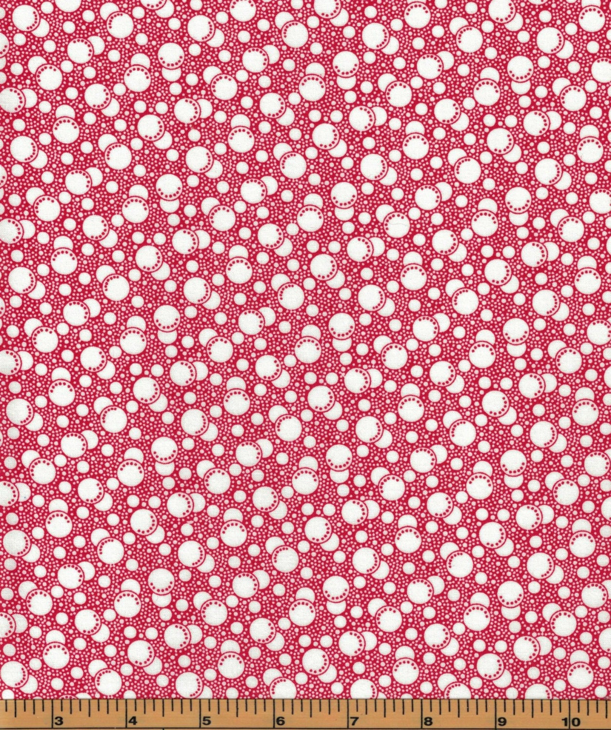 Galaxy fabrics licorice bits red 100 cotton quilting for Galaxy material fabric