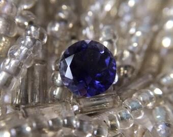 0.64ct Iolite Round Gemstone