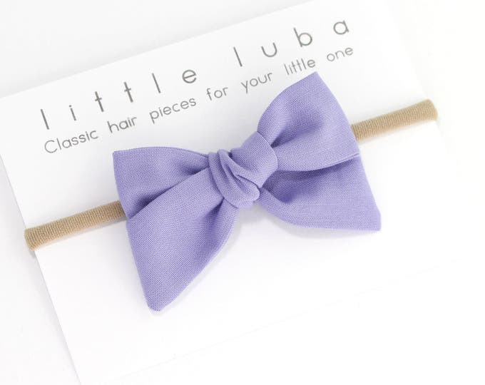 Featured listing image: Lilac // Hand-Tied Bow