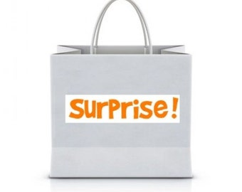 Surprise bag - gift - gift card - 5 packages of bag available