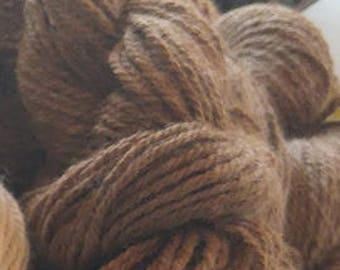 Skein of Alpaca fiber, 100% alpaca, natural color without dye, from our Alpaca Kate