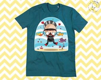 GNAPPETTIZZAZIONE T_Shirt Shirt Caricature Man