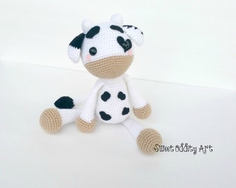 cow crochet pattern, crochet cow, amigurumi cow, cow pattern