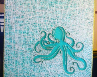 Octopus Nails Etsy