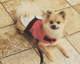 Pokeball Dog costume