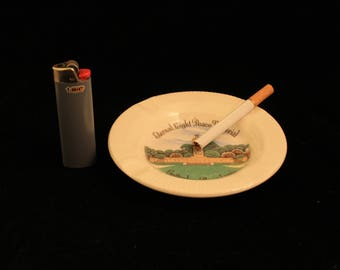 Gettysburg, Pennsylvania Eternal Light Peace Memorial Ashtray Vintage Travel Souvenir Tobacco Cigarette Smoker Gift History Civil War