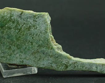 Jade slab, Wyoming  - Lapidary Mineral Specimen for Sale