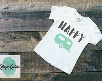 Happy Camper Toddler Shirt