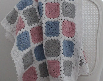 Bundle of Joy - crochet baby blanket