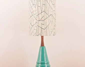 Ceramic Lamp and Shade 246