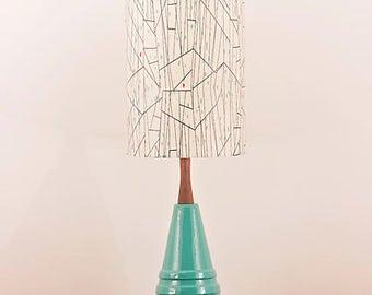 Ceramic Lamp and Shade 246