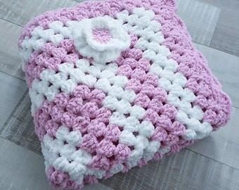 FREE SHIPPING! Baby Blanket, Baby Gift, Baby Girl, Baby Girl Gift, Crib Blanket, Baby Girl Bedding, Baby Afghan, Pram Blanket, Throw Blanket